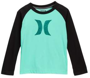 Hurley Dri-Fit Icon Raglan Tee (Little Boys)