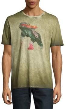 PRPS Blaster Cotton Crewneck T-Shirt