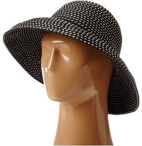 San Diego Hat Company RBM4784 Ribbon Kettle Brim Hat Traditional Hats