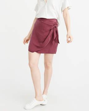 Abercrombie & Fitch Wrap Mini Skirt