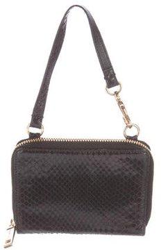 Dolce & Gabbana Snakeskin Compact Wallet
