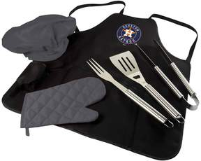 Picnic Time Houston Astros BBQ Apron, Utensil & Tote Set