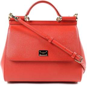 Dolce & Gabbana Large Sicily Tote - RED - STYLE