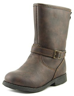 Carter's Clariss Toddler Round Toe Synthetic Brown Boot.
