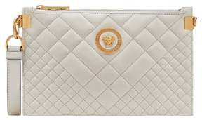 Versace Tribute Icon Quilted Leather Pouch