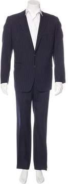 Dries Van Noten Kansas Wool Striped Suit