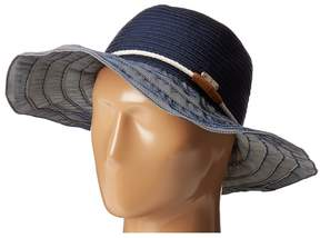 San Diego Hat Company RBL4787 Ribbon Hat with Rope Band Traditional Hats