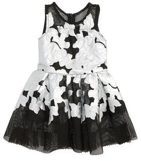 Halabaloo Infant Girl's Flower Applique Dress