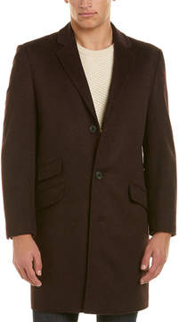 Hart Schaffner Marx Shelby Wool & Cashmere-Blend Coat