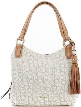 Calvin Klein Holly Monogram Hobo Bag