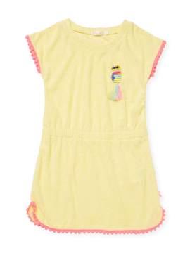 Billieblush Girl's Velvet Popover Dress