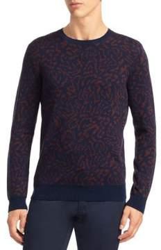 Saks Fifth Avenue MODERN Animal-Print Sweater