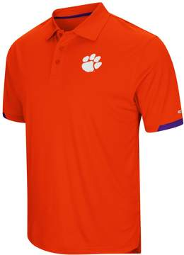 Colosseum Men's Clemson Tigers Wedge Polo
