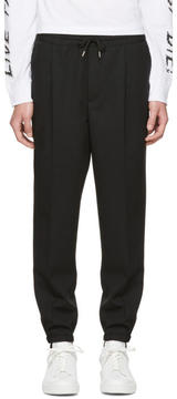 McQ Black Tailored Lounge Pants