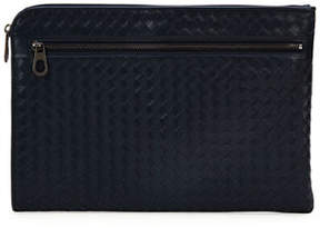 Bottega Veneta Woven Leather Portfolio Case