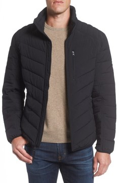 Andrew Marc Men's Stretch Packable Down Jacket