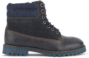 Pepe Jeans Leather ankle boots