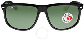 Ray-Ban Highstreet Black Nylon Frame Sunglasses RB4147-601-58-60