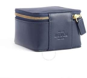 Royce Leather Royce Blue Trinket Case in Genuine Leather