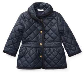 Ralph Lauren Quilted Barn Jacket Collection Navy 6M