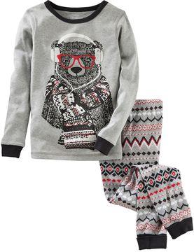 Osh Kosh Boys 4-14 Bear 2-Piece Pajama Set