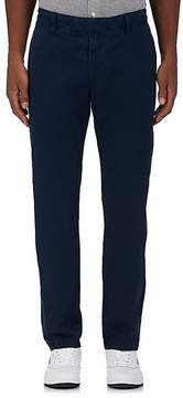 Orlebar Brown MEN'S COTTON FLAT-FRONT TROUSERS