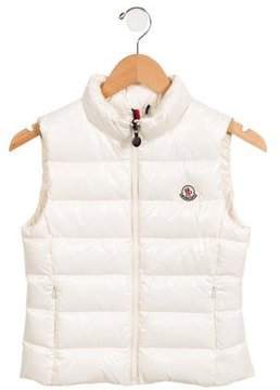 Moncler Girls' Ghany Puffer Vest w/ Tags