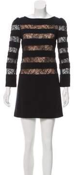 Erin Fetherston Lace-Trimmed Shift Dress