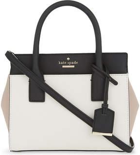 Kate Spade Cameron Street mini Candace leather shoulder bag - TOASTED WHEAT - STYLE