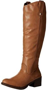 Rampage Women's Italie Riding Knee High Boot.