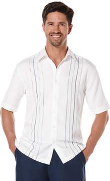 Cubavera Short Sleeve Tri-Color Embroideried Shirt