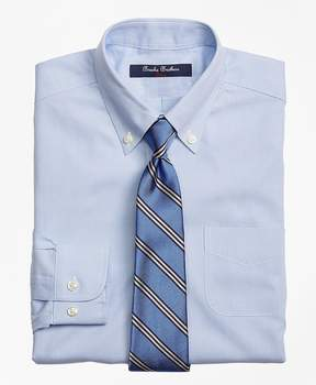 Brooks Brothers Non-Iron Supima® Pinpoint Cotton Houndstooth Dress Shirt