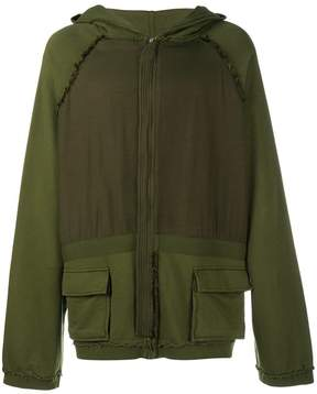 Haider Ackermann oversized zipped hoodie