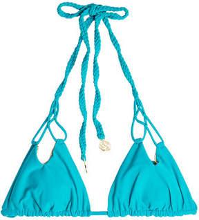 Luli Fama Bikini Top with Cut Outs
