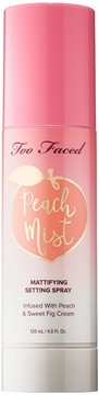 Too Faced Peach Mist Mattifying Setting Spray – Peaches and Cream Collection