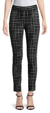 Isaac Mizrahi IMNYC Full Length Slim Pull On Legging with Pin Tucks