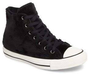 Converse Women's Chuck Taylor All Star Faux Fur High Top Sneakers