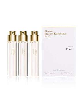 Francis Kurkdjian féminin Pluriel Travel Refills Eau de Parfum, 3 x 0.37 oz.