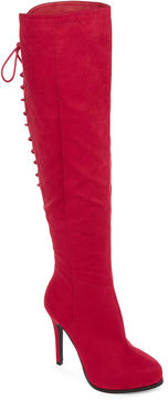 Two Lips 2 Lips Too Lifted Womens Over the Knee Boots