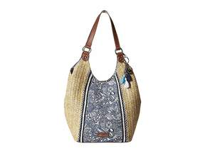 Sakroots Roma Straw Shopper