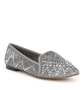 Gianni Bini Astorr Jeweled Flats