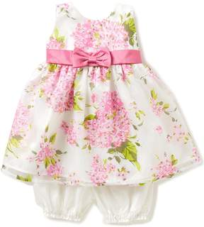 Jayne Copeland Baby Girls 12-24 Months Floral-Burnout Organza Empire Waist Pleated Dress