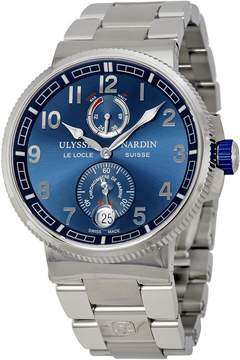 Ulysse Nardin Marine Automatic Blue Dial Stainless Steel Men's Watch 1183-126-7M-63