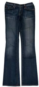 Adriano Goldschmied Low-Rise Wide-Leg Jeans