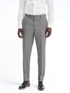 Banana Republic Slim Plaid Wool Suit Trouser