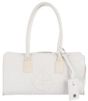 Giorgio Armani Smooth Leather Shoulder Bag