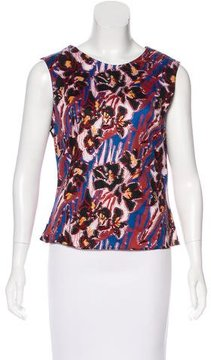 Creatures of the Wind Sleeveless Print Top