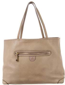 Mark Cross Leather Shopper Tote