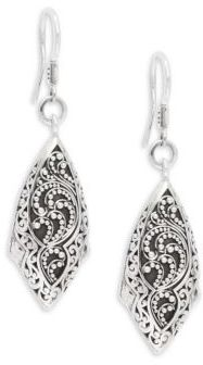Lois Hill Signature Sterling Silver Dangle Earrings