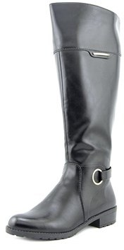 Alfani Womens Jadah Closed Toe Knee High Fashion Boots Fashion Boots.